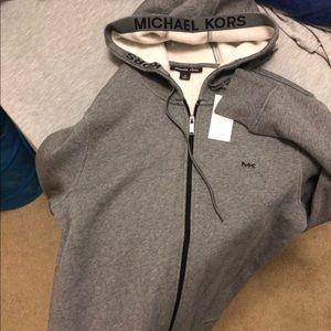 Micheal Kors grey Jacket, men's medium (Org. $90)